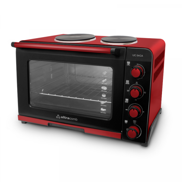 Horno Eléctrico Ultracomb 54 lts c/Anafe