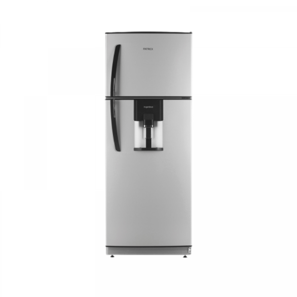 Heladera con freezer cycle defrost 364 lts Silver Patrick